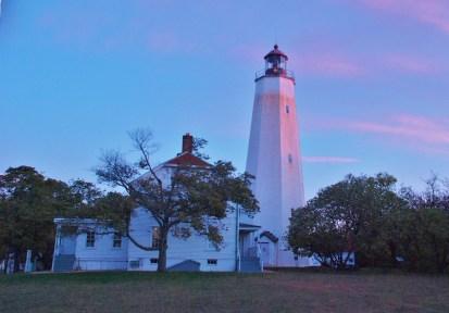 Sandy Hook Lighthouse at Sunrise