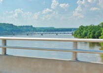 Crossing the Mississippi marked the real beginning of our adventure.