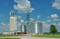Grain Elevators were a frequent sight as we traveled west.