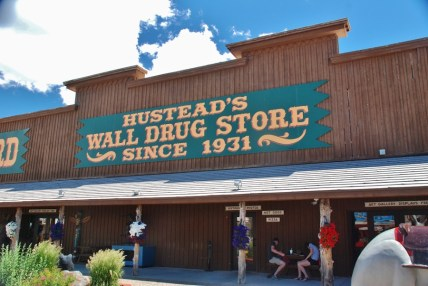 Wall Drug was our first stop after leaving Custer