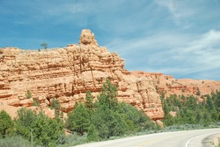 Near Red Canyon on US Rt 89