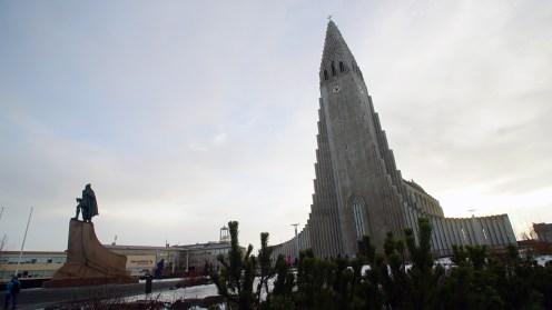 The most iconic church in Iceland; Hallgrimskirkja. (Foto: Giri Prasetyo)