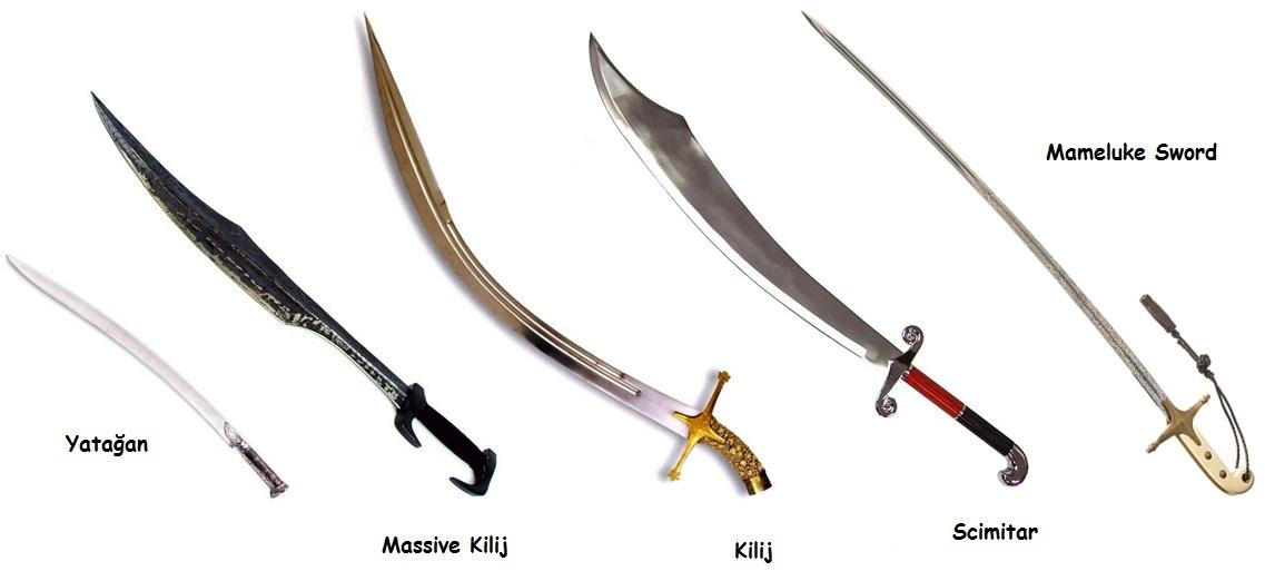 Kl Eitleri Sword Types