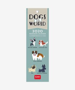 2020 Takvim Kitap Ayracı - Dogs Of The World - Legami