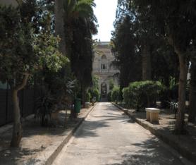 viale d'ingresso, Villa Guastamacchia