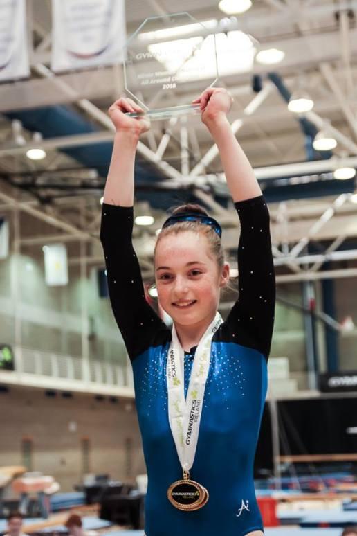 Emma Slevin - National Minors Champion