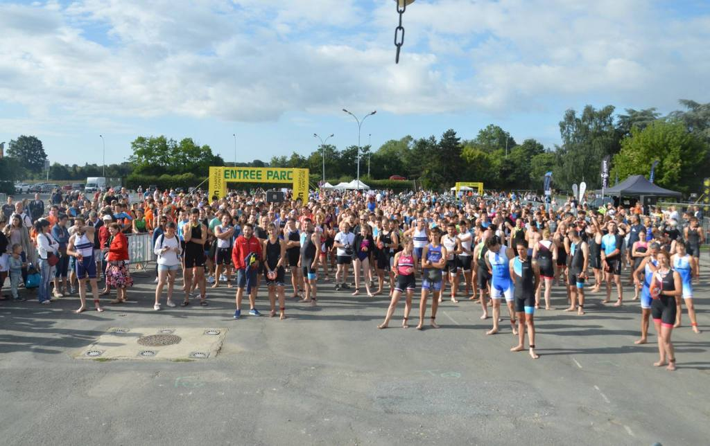 Triathlons S & M  //  Chateau-Gontier (53)  //  29.07.2018