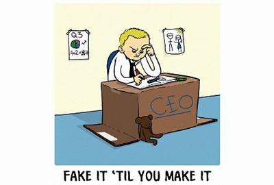'Fake it 'til you make it' is psychologically damaging