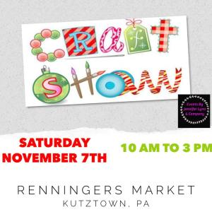 Craft Show Nov 7, 2020