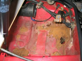 Image result for rusted 944 battery box