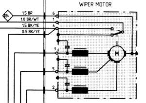 windshield wiper motor wiring  Rennlist  Porsche Discussion Forums