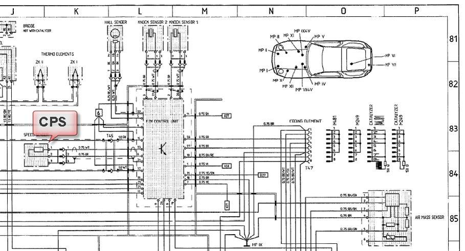 porsche 924 fuse diagram