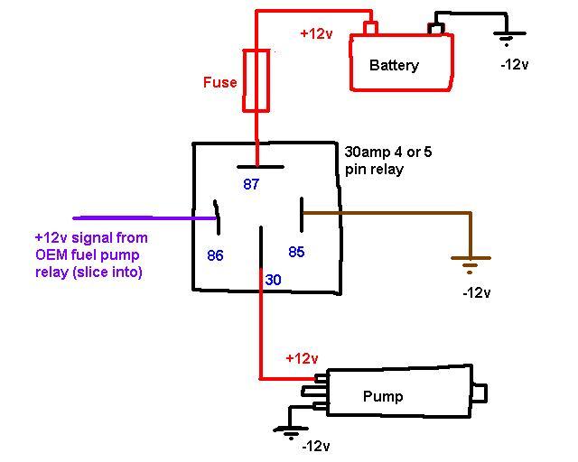Fuel Pump Electric Diagram