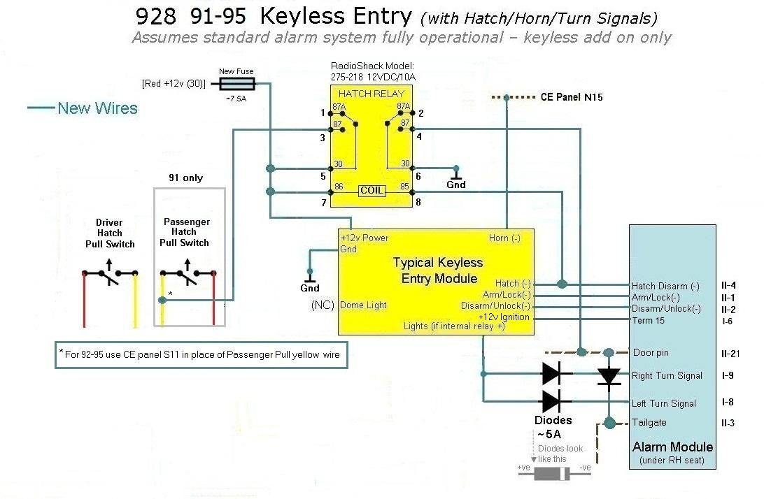Excalibur Alarm Wiring Diagram : Excalibur keyless entry wiring diagram