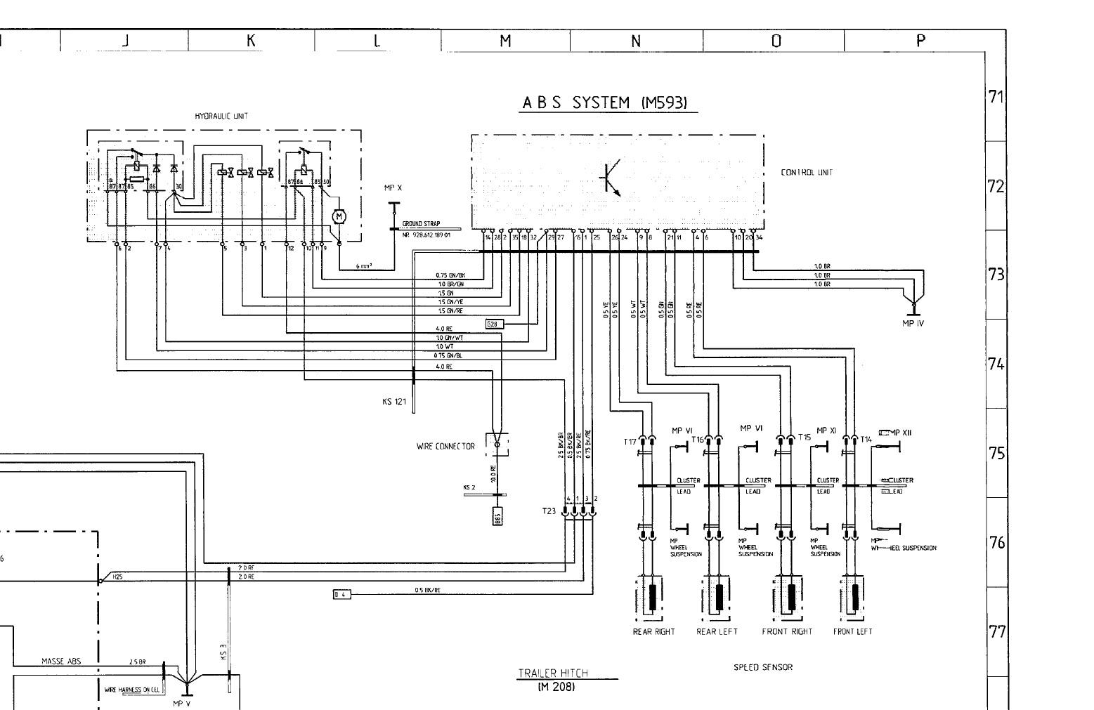 Porsche 928 Wiring Diagram 1980
