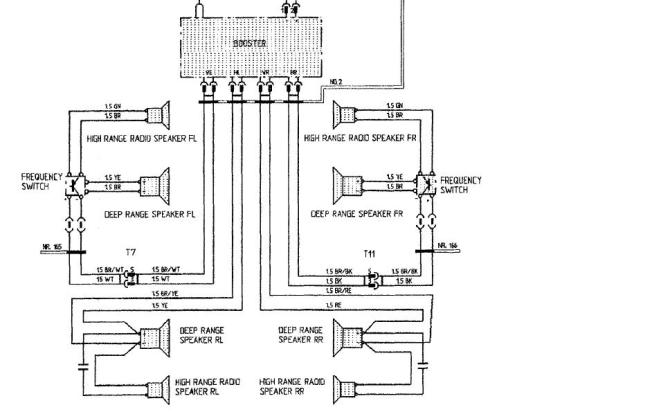 pyle car speaker wiring diagram  2011 jetta head unit