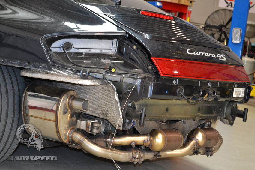 custom exhaust question for 996 c4s