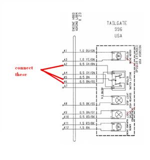 fixed spoiler 99661207051 wiring diagram  Rennlist
