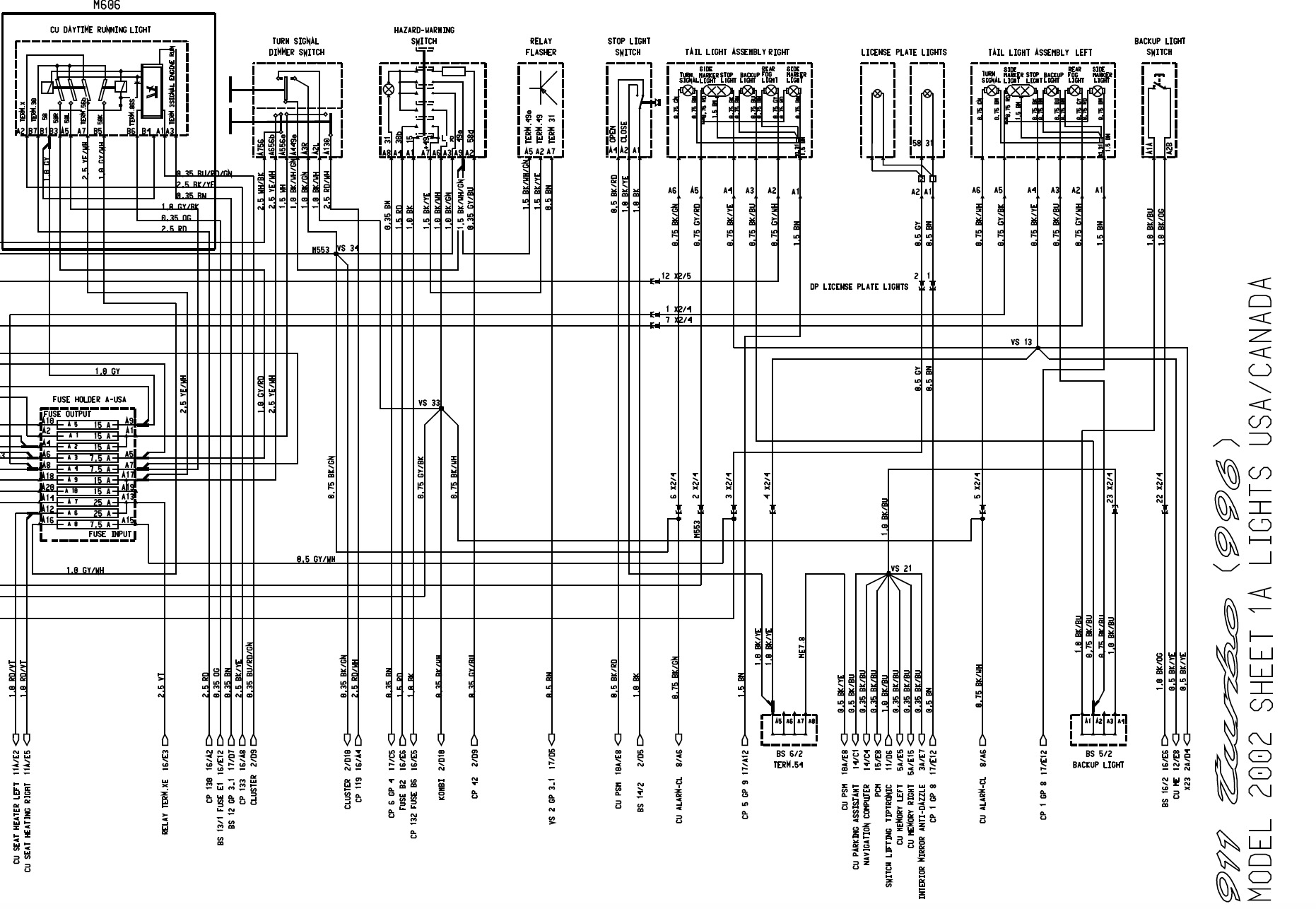 2002 Porsche Radio Wiring Interior Diagrams Speakers Diagram Together With 996 2009 Enchanting