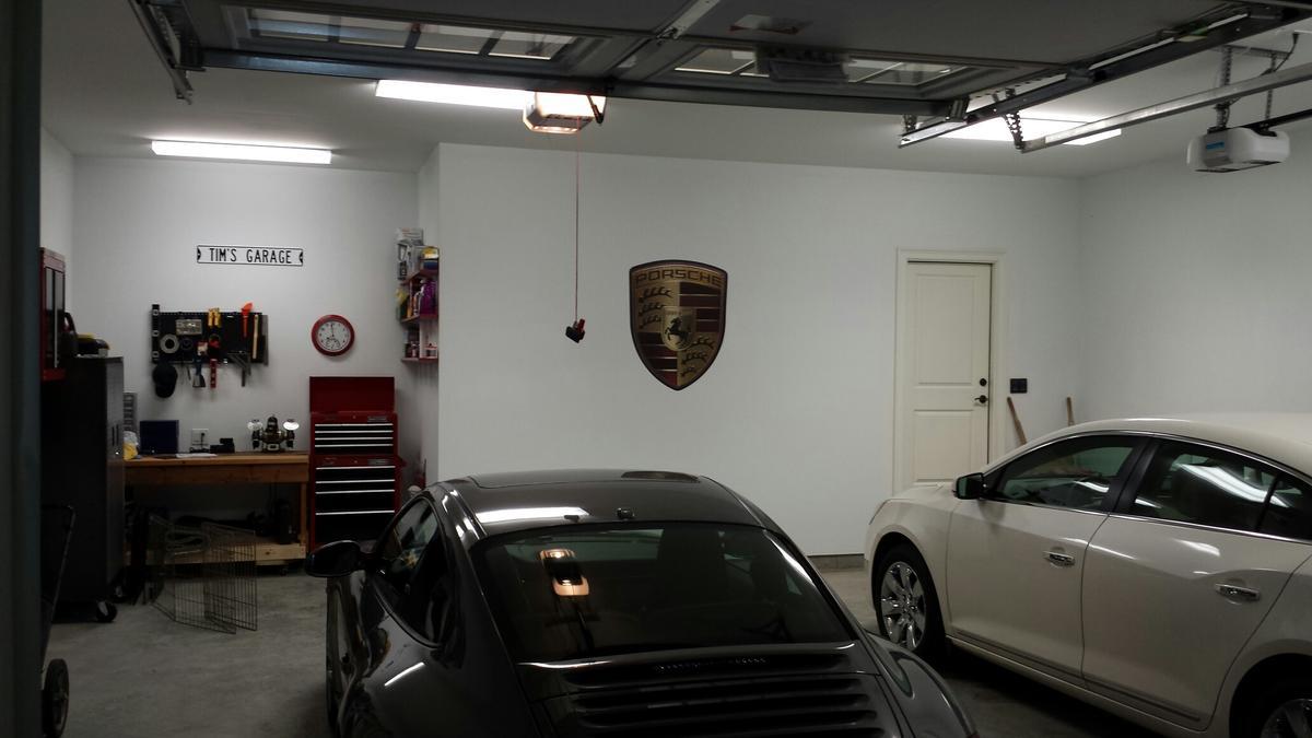 Porsche Decor for the Garage - Rennlist - Porsche ... on Garage Decoration  id=31243