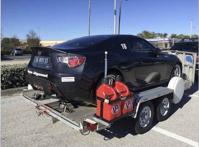 trailex trailers now has gas jug