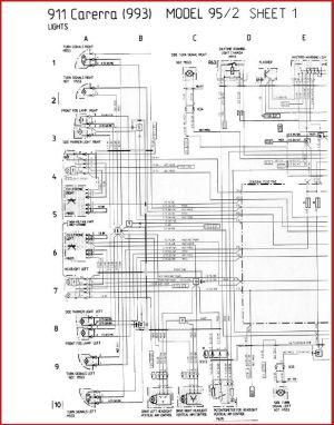 993 C4 1995 Wiring diagram  hazards!  Rennlist  Porsche