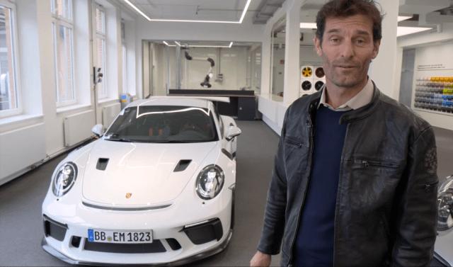 rennlist.com Mark Webber Porsche 911 GT3 RS