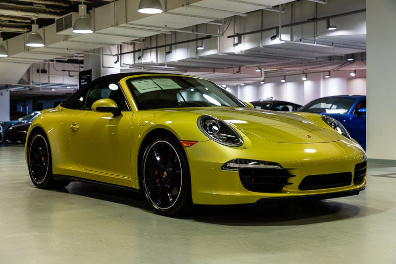 Porsche Experience Center >> Porsche 911 Paint to Sample Is a Lime Gold Stunner - Rennlist