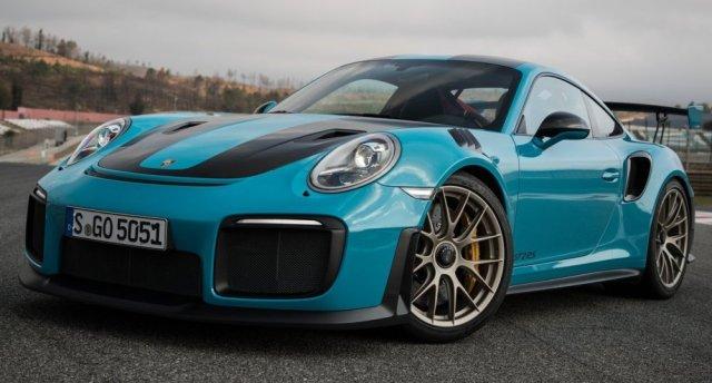 2018 Porsche 911 GT2 RS Blue