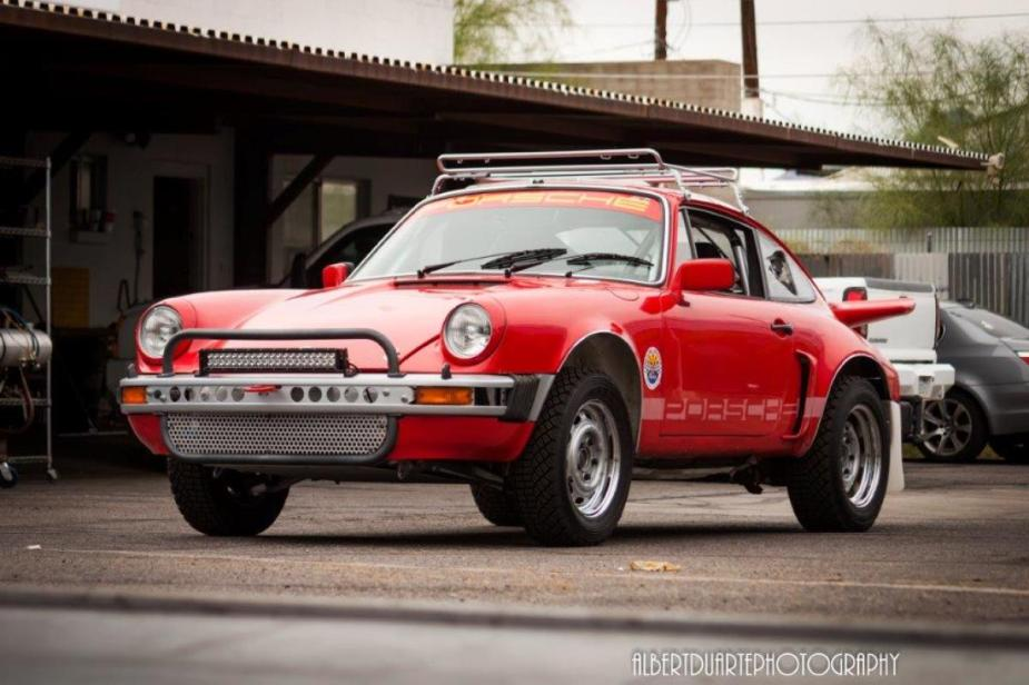 Hit The Road And The Dirt With A Red 911sc Rally Car Rennlist