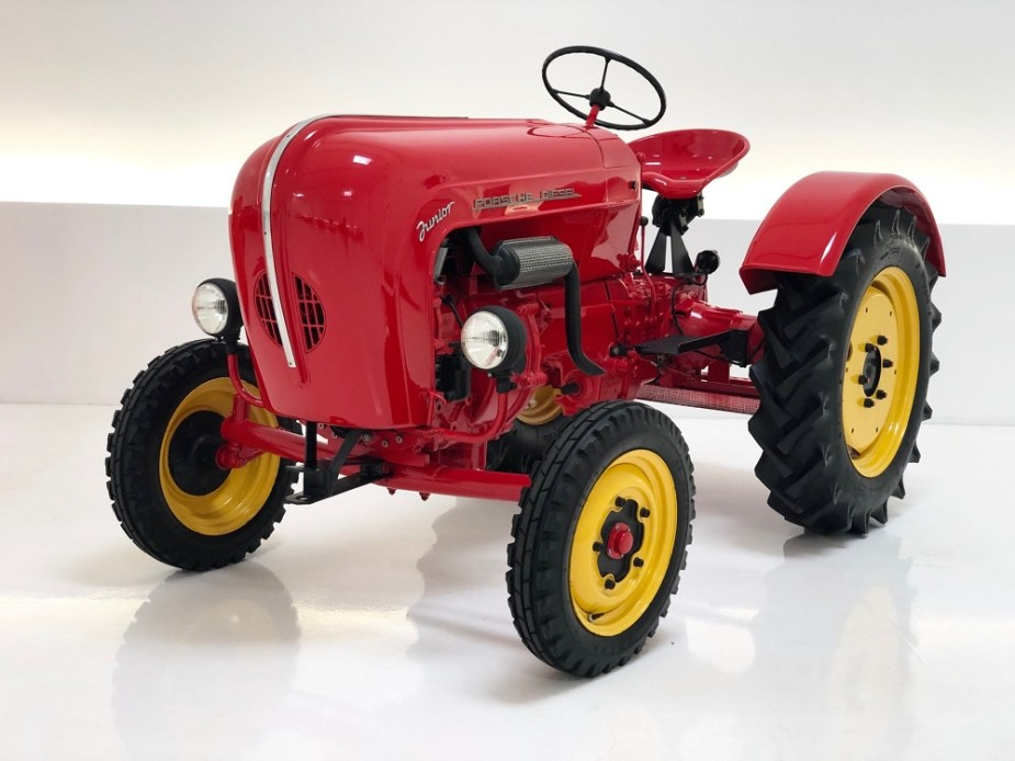 1958 Porsche Diesel Junior Tractor
