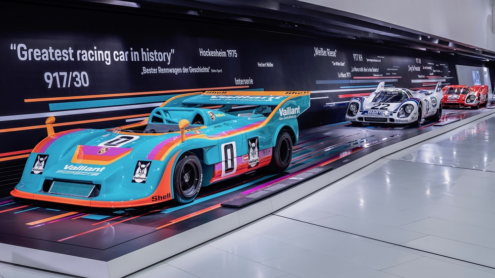 """""""50 Years of the Porsche 917 – Colors of Speed"""""""