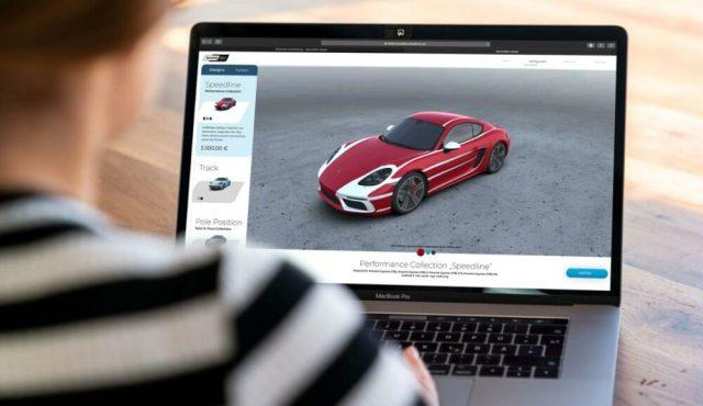 Porsche Digital Second Skin Configurator
