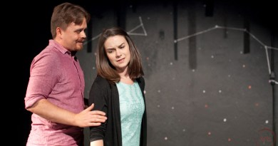 Backstage Review: 'Constellations' at Restless Artists Theater