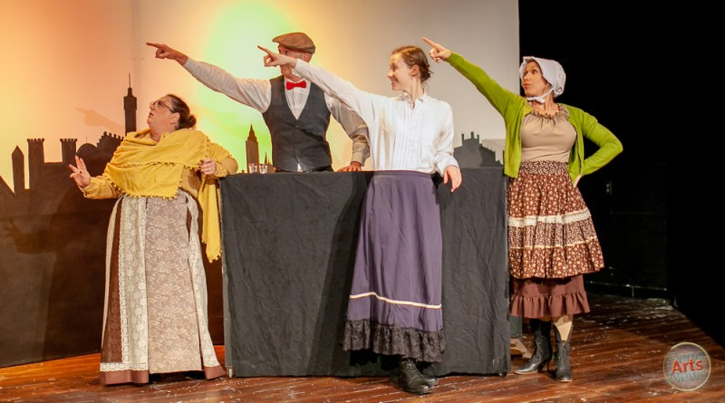 Backstage Review: 'Mrs. Bob Cratchit's Wild Christmas Binge'