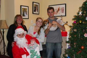 Brooks Christmas photo