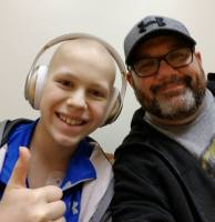 How Do You Stay Positive When Your Wife and Kid Have Cancer?