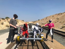 V&T Railway Offers Family-friendly Railbike Rides for Halloween