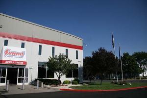 Commercial Building Entrance