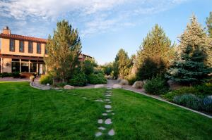 Residential Backyard Stone Path