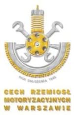 Należymy do Cechu Rzemiosł Motoryzacyjnych w Warszawie