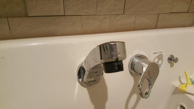 洗面水栓の水の出が悪い場合