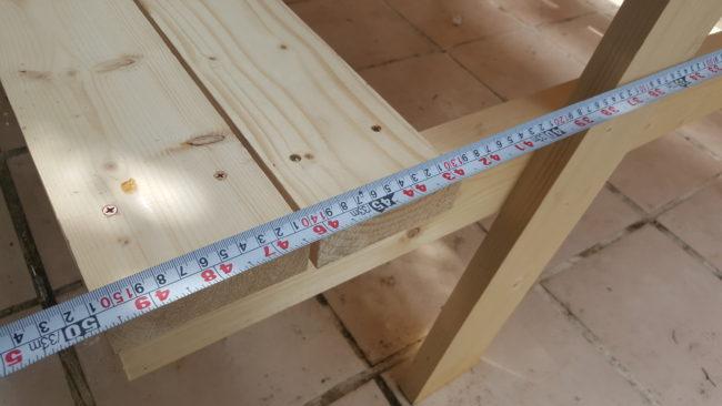 ガーデンテーブル 横幅