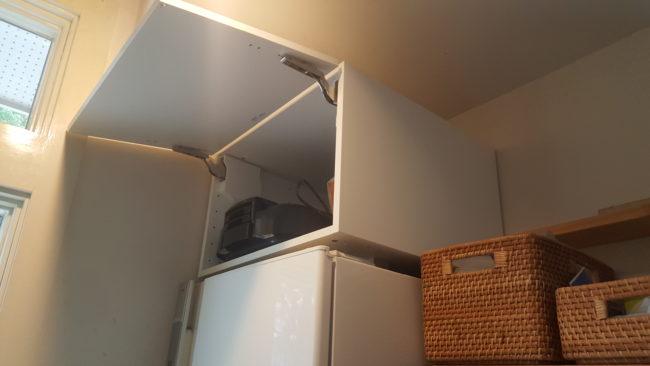 冷蔵庫上収納 IKEA