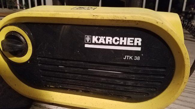 ケルヒャー 高圧洗浄機JTK38