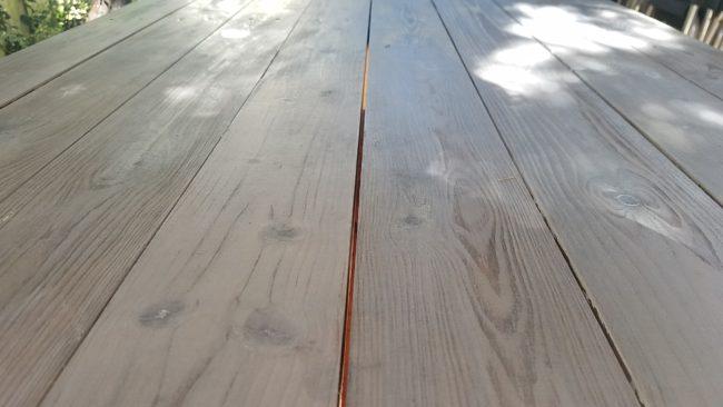 木目を生かした塗装仕上