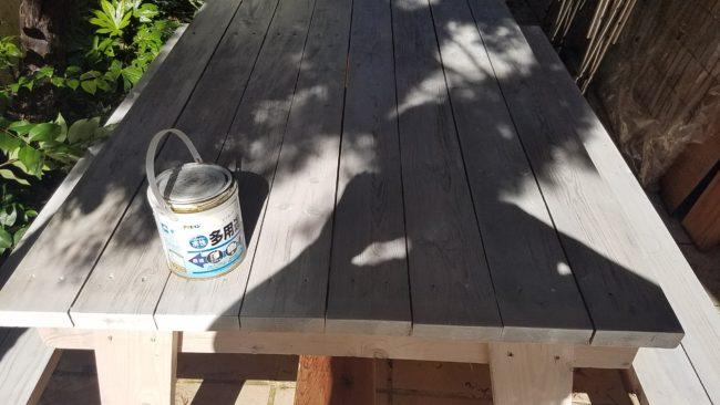 水性塗装 木目を生かした仕上げにする