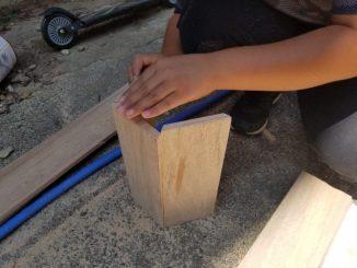 六角形 鳥の巣 DIYに挑戦