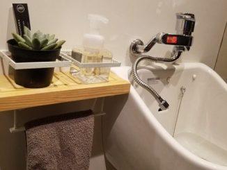 洗面 手洗い棚 DIY