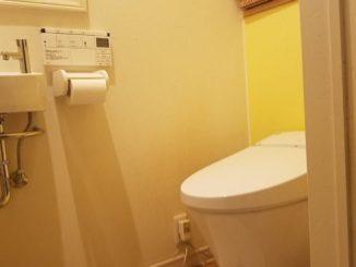 トイレにDIYで棚を付ける